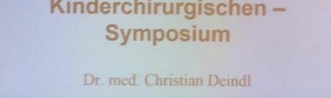 Erfolgreicher Arzt - 22. Kinderchirurgisches Symposium am 22.11.2017 in Nürnberg
