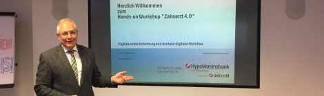 """Zahnarzt 4.0 - Erfahrungsbericht vom Hands-on Workshop """"Digitale orale Abformung und Digital Workflow"""""""